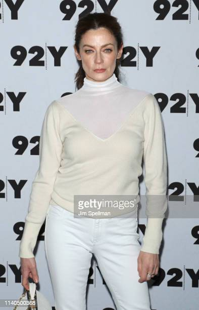 Actress Michelle Gomez attends a conversation for Netflix's Chilling Adventures Of Sabrina at the 92nd Street Y on April 04 2019 in New York City