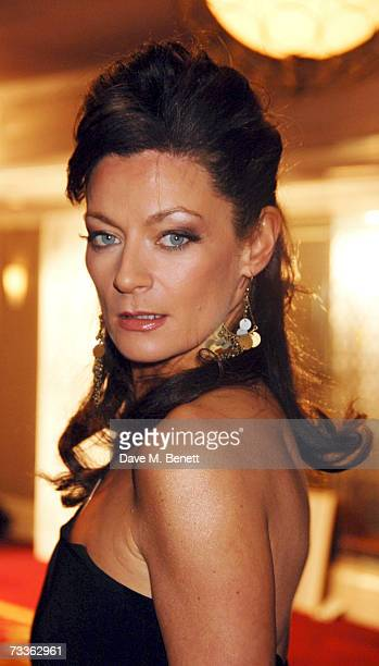 Actress Michelle Gomez attends the reception at the Laurence Olivier Awards held at the Grosvenor House on February 18 2007 in London England