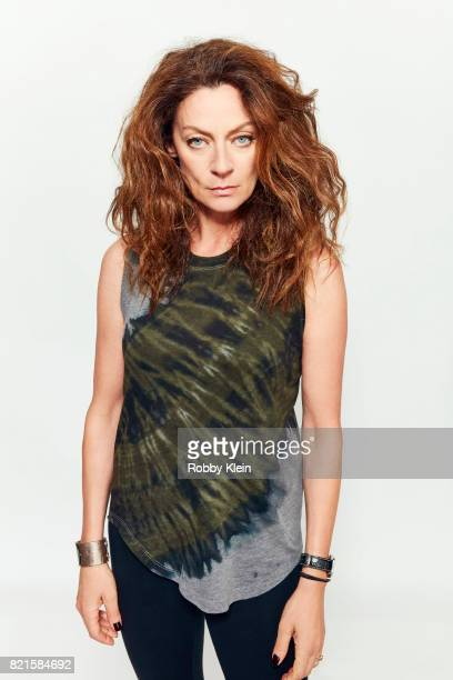 Actress Michelle Gomez from BBC America's 'Doctor Who' poses for a portrait during ComicCon 2017 at Hard Rock Hotel San Diego on July 22 2017 in San...