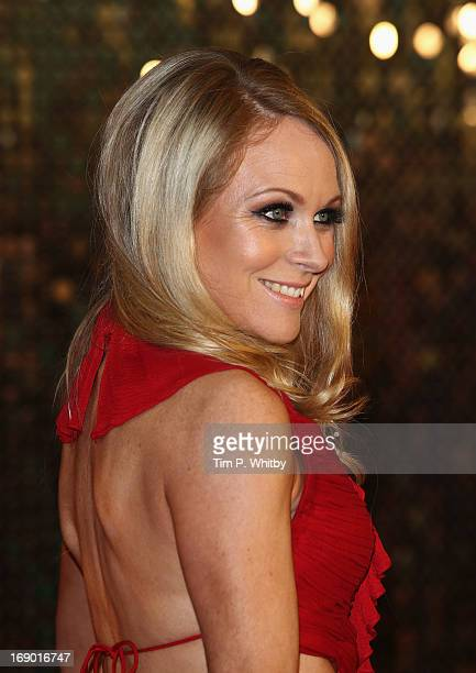 Actress Michelle Hardwick attends the British Soap Awards at Media City on May 18 2013 in Manchester England