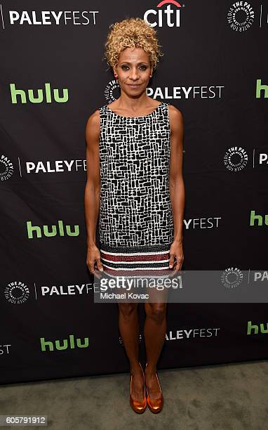 Actress Michelle Hurd arrives at The Paley Center for Media's 10th Annual PaleyFest Fall TV Previews honoring STARZ's Ash vs Evil Dead at the Paley...