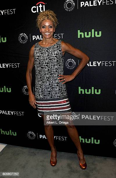 Actress Michelle Hurd at the The Paley Center For Media's PaleyFest 2016 Fall TV Preview STARZ's Ash Vs Evil Dead held at The Paley Center for Media...