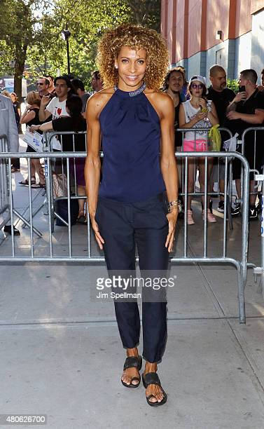 Actress Michelle Hurd attends a Marvel's screening of AntMan hosted by The Cinema Society and Audi on July 13 2015 in New York City