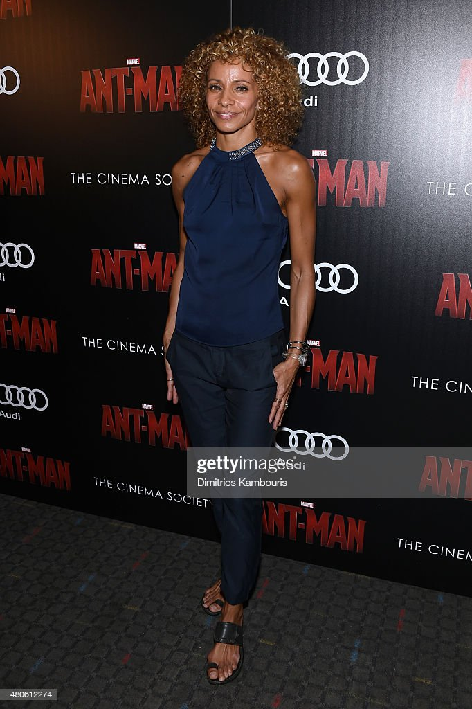 Actress Michelle Hurd attends Marvel's screening of 'Ant-Man' hosted by The Cinema Society and Audi at SVA Theater on July 13, 2015 in New York City.