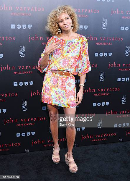 Actress Michelle Hurd attends the International Peace Day celebration at John Varvatos on September 21 2014 in Los Angeles California