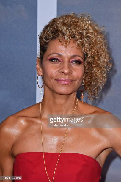 US actress Michelle Hurd attends the Star Trek Picard fan screening at Zoo Palast on January 17 2020 in Berlin Germany