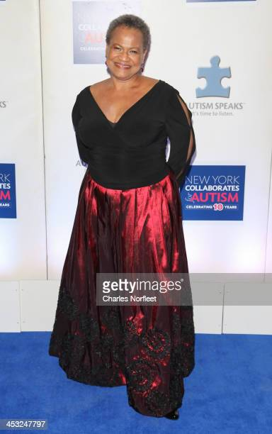 Actress Michelle Hurst attends the 2013 Winter Ball For Autism at the Metropolitan Museum of Art on December 2 2013 in New York City