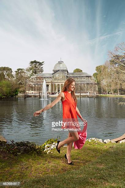 Actress Michelle Jenner is photographed for Conde Nast Traveler - Spain on March 2, 2013 in Madrid, Spain. .