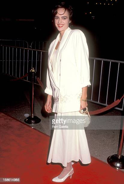 Actress Michelle Johnson attends the Awakenings Century City Premiere on December 12 1990 at Plitt's Century Plaza Theatres in Century City California