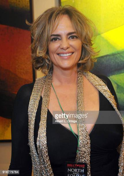 Actress Michelle Johnson attends The Hollywood Show held at Westin LAX Hotel on February 10 2018 in Los Angeles California