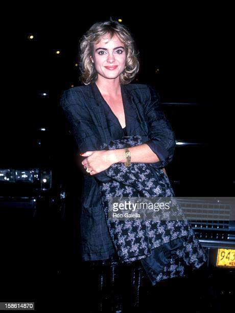 Actress Michelle Johnson attends the Opening Night of the 24th Annual New York Film Festival with Screening of Down by Law on September 19 1986 at...