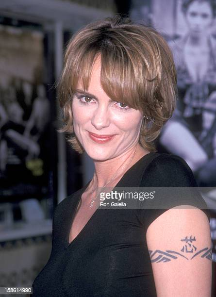 Actress Michelle Johnson attends the Swordfish Westwood Premiere on June 4 2001 at Mann Village Theatre in Westwood California Photo by Ron Galella...