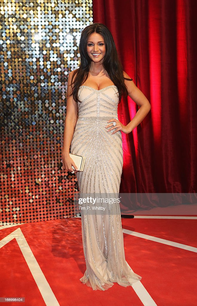 Actress Michelle Keegan attends the British Soap Awards at Media City on May 18, 2013 in Manchester, England.