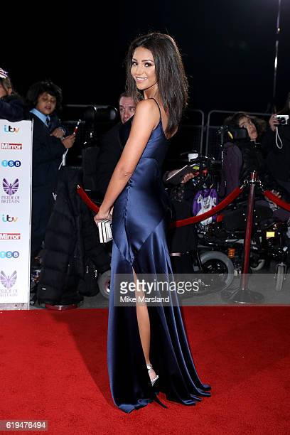 Actress Michelle Keegan attends the Pride Of Britain Awards at The Grosvenor House Hotel on October 31 2016 in London England