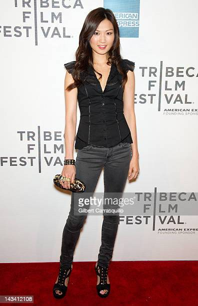"""Actress Michelle Krusiec attends the premiere of """"Knife Fight"""" during the 2012 Tribeca Film Festival at BMCC Tribeca PAC on April 25, 2012 in New..."""