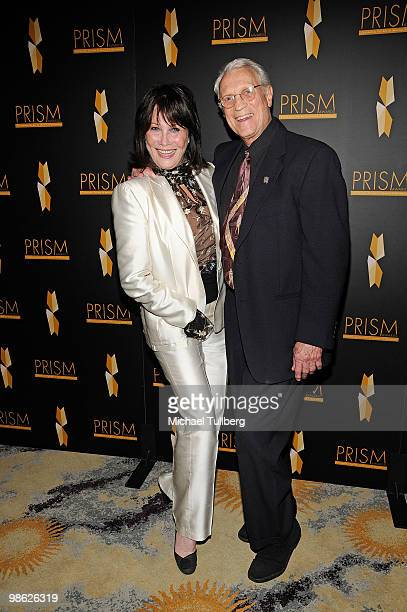 Actress Michelle Lee arrives with husband Fred Rappaport at the 2010 PRISM Awards held at the Beverly Hills Hotel on April 22 2010 in Beverly Hills...