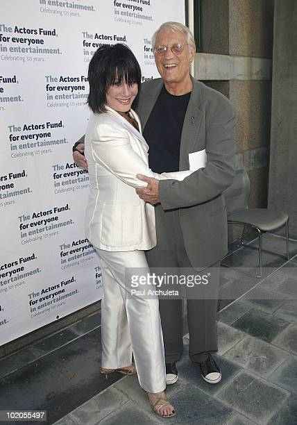 Actress Michelle Lee guest arrive at the Actors Funds 14th annual Los Angeles TONY awards party at Skirball Cultural Center on June 13 2010 in Los...
