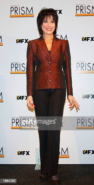 Actress Michelle Lee poses backstage at the 7th Annual Prism Awards held at the Henry Fonda Music Box Theatre on May 8 2003 in Hollywood California