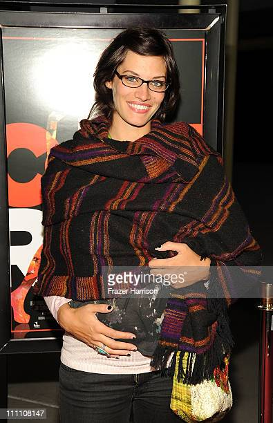 Actress Michelle Lombardo arrives at the premiere Of Cat Run at the ArcLight Cinemas on March 29 2011 in Los Angeles California