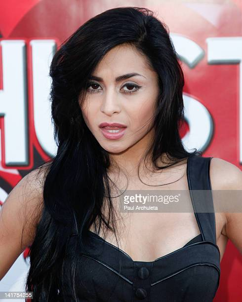 Actress Michelle Maylene attends the Hustler Hollywood Walk Of Fame induction ceremony at Hustler Hollywood on March 22 2012 in West Hollywood...
