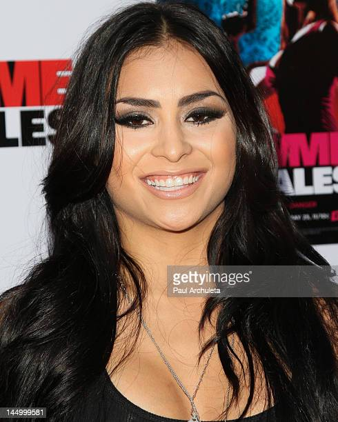 Actress Michelle Maylene attends the screening of Cinemax's new series Femme Fatales at ArcLight Hollywood on May 21 2012 in Hollywood California