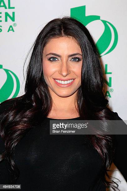 Actress Michelle Medoff arrives at Global Green USA celebrates the launch of Sebastian Copeland's 'Arctica The Vanishing North' at Four Seasons Hotel...