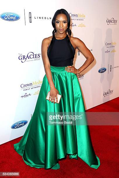 Actress Michelle Mitchenor attends the 41st Annual Gracie Awards at Regent Beverly Wilshire Hotel on May 24 2016 in Beverly Hills California