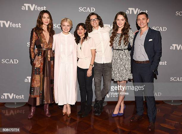 Actress Michelle Monaghan actress Sarah Jones Executive Producer Jessica Goldberg actor Kyle Allen actress Amy Forsyth and actor Hugh Dancy attend...
