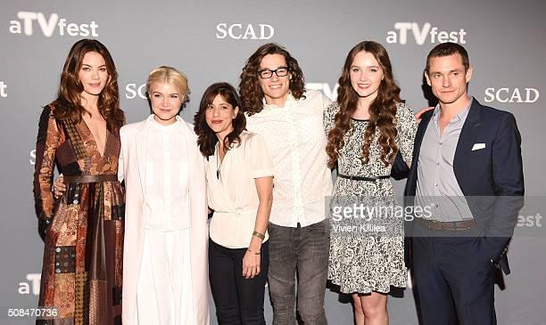 Actress Michelle Monaghan actress Sarah Jones Executive Producer Jessica Goldberg actor Kyle Allen actress Amy Forsyth and actor Hugh Dancy attend...