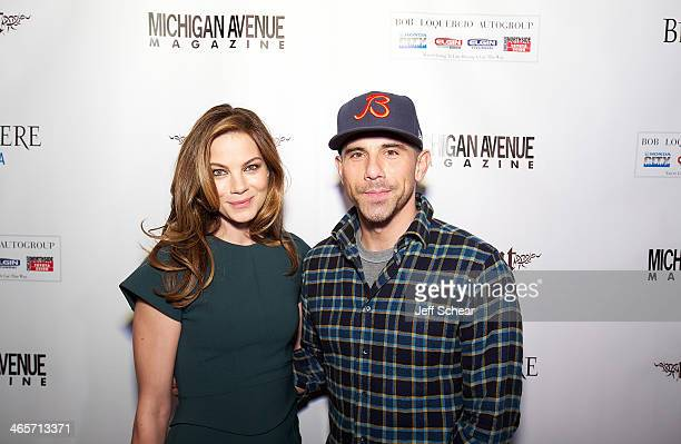 Actress Michelle Monaghan and Billy Dec attend Michigan Avenue Magazine Winter Issue Release Celebration Hosted By Michelle Monaghan on January 28...