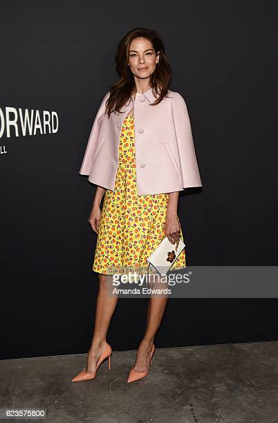 Actress Michelle Monaghan arrives at a screening of David O Russell's Past Forward hosted by Prada at Hauser Wirth Schimmel on November 15 2016 in...