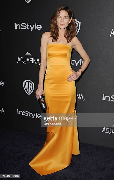Actress Michelle Monaghan arrives at the 2016 InStyle And Warner Bros 73rd Annual Golden Globe Awards PostParty at The Beverly Hilton Hotel on...