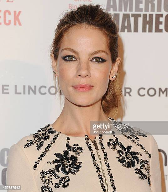 Actress Michelle Monaghan arrives at the 28th American Cinematheque Award Honoring Matthew McConaughey at The Beverly Hilton Hotel on October 21 2014...
