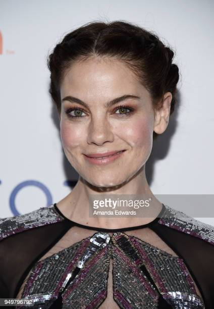 Actress Michelle Monaghan arrives at the 9th Annual Thirst Gala at The Beverly Hilton Hotel on April 21 2018 in Beverly Hills California