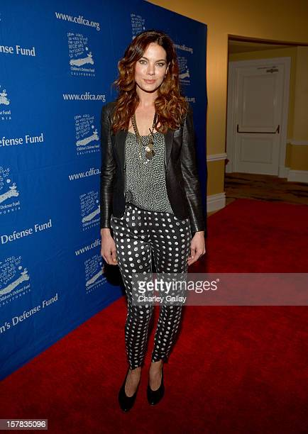 Actress Michelle Monaghan arrives at the Children's Defense Fund of California 22nd Annual Beat The Odds Awards at Beverly Hills Hotel on December 6...