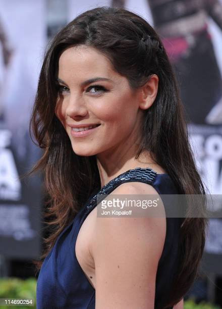 Actress Michelle Monaghan arrives at the Los Angeles Premiere of 'Prince Of Persia The Sands Of Time' at Grauman's Chinese Theatre on May 17 2010 in...