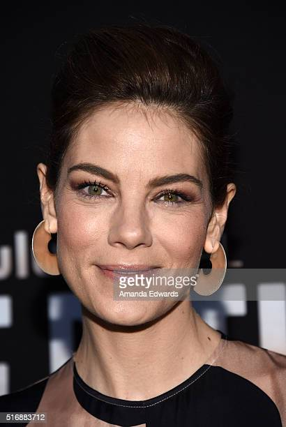 Actress Michelle Monaghan arrives at the premiere of Hulu's 'The Path' at the ArcLight Hollywood on March 21 2016 in Hollywood California