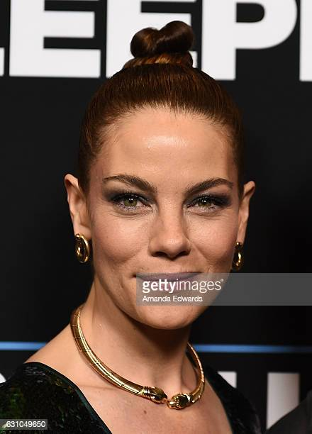 Actress Michelle Monaghan arrives at the premiere of Open Road Films' 'Sleepless' at the Regal LA Live Stadium 14 on January 5 2017 in Los Angeles...