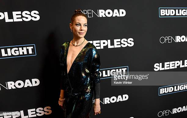 Actress Michelle Monaghan arrives at the premiere of Open Road Films' Sleepless at the Regal LA Live Stadium 14 Theatre on January 5 2017 in Los...