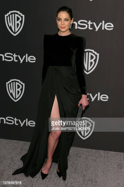 US actress Michelle Monaghan arrives for the Warner Bros and In Style 20th annual post Golden Globes party at the Oasis Courtyard of the Beverly...