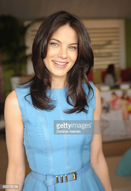 SANTA MONICA CA FEBRUARY 21 Actress Michelle Monaghan at Elle's Beach Chic Green Room at Film Independent's 2009 Independent Spirit Awards held at...