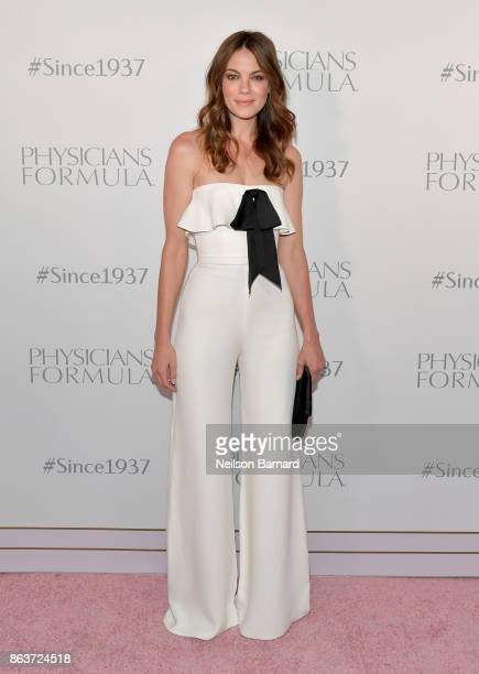 Actress Michelle Monaghan at Physicians Formula's 80th Anniversary at Beauty Essex on October 19 2017 in Los Angeles California