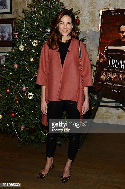 Actress Michelle Monaghan attends a celebration for Bryan Cranston at House of Elyx on December 13 2015 in New York City