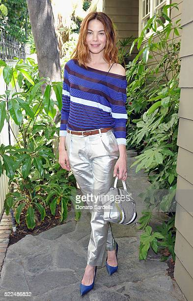 Actress Michelle Monaghan attends Baby2Baby Luncheon hosted by Kelly Sawyer TOD'S at Chateau Marmont on April 19 2016 in Los Angeles California