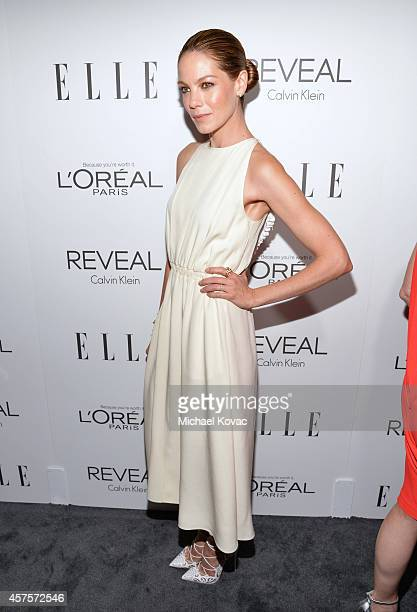Actress Michelle Monaghan attends ELLE's 21st Annual Women in Hollywood Celebration at the Four Seasons Hotel on October 20 2014 in Beverly Hills...