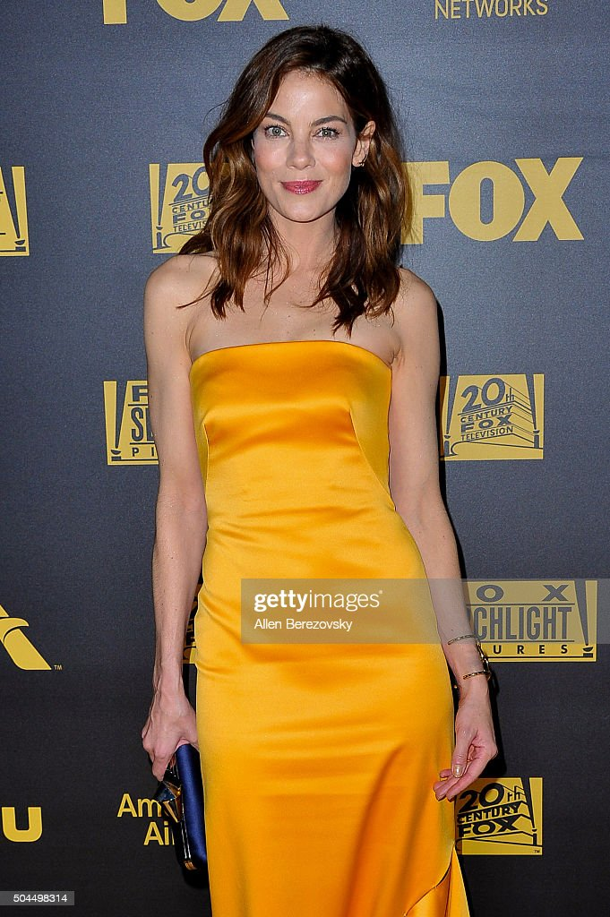 Actress Michelle Monaghan attends Fox And FX's 2016 Golden Globe Awards Party on January 10, 2016 in Beverly Hills, California.