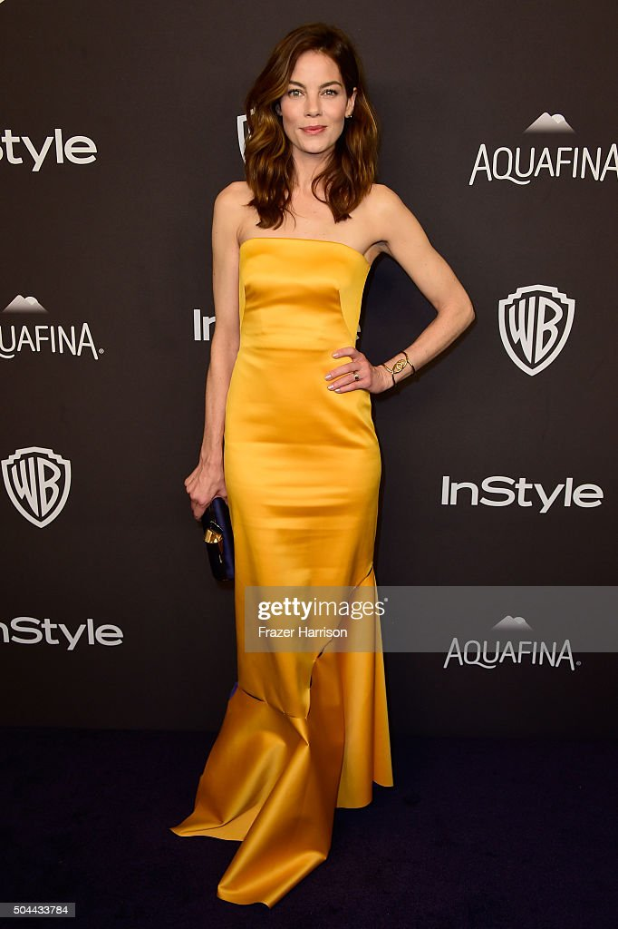 Actress Michelle Monaghan attends InStyle and Warner Bros. 73rd Annual Golden Globe Awards Post-Party at The Beverly Hilton Hotel on January 10, 2016 in Beverly Hills, California.
