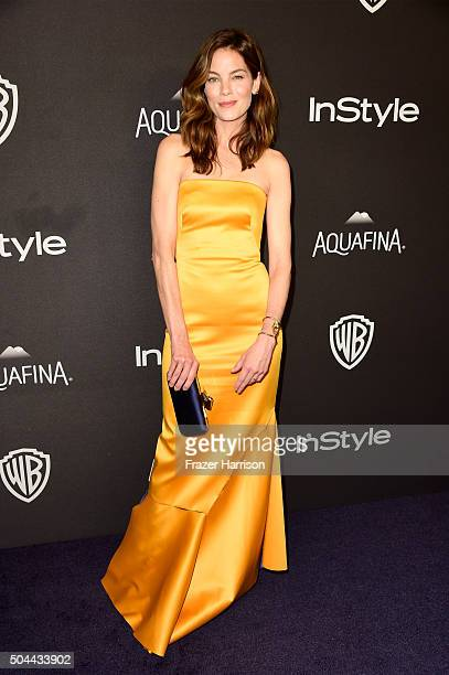 Actress Michelle Monaghan attends InStyle and Warner Bros 73rd Annual Golden Globe Awards PostParty at The Beverly Hilton Hotel on January 10 2016 in...
