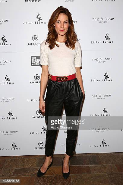 Actress Michelle Monaghan attends Killer Films' 20th Anniversary Celebration presented by Refinery29 in partnership with Rag Bone at The Django at...