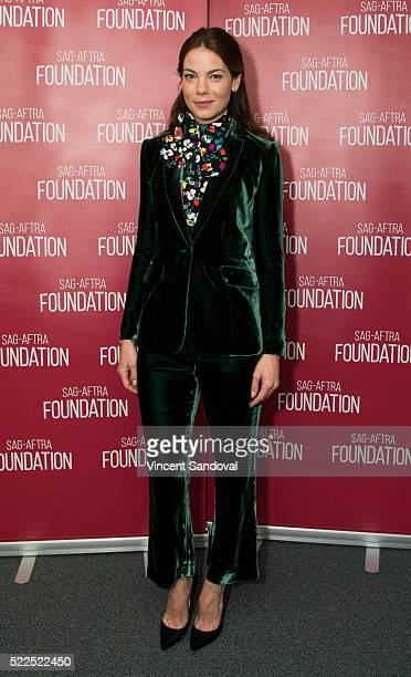 Actress Michelle Monaghan attends SAGAFTRA Foundation Conversations with Michelle Monaghan for 'The Path' at SAGAFTRA Foundation on April 19 2016 in...